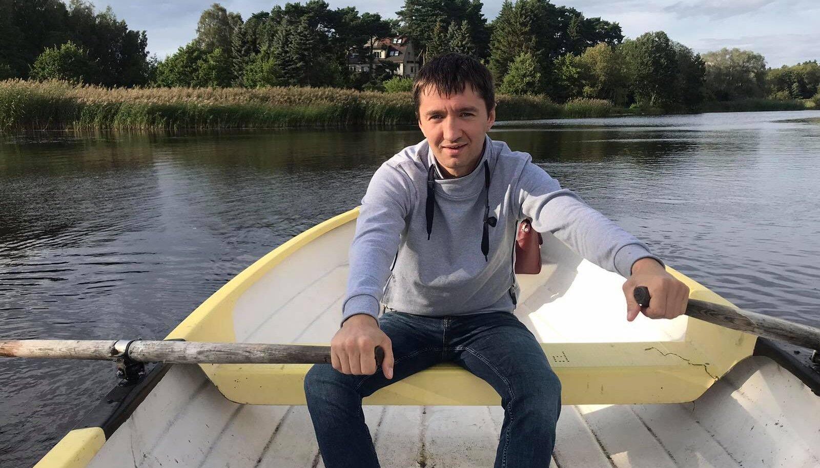 Новый герой Кохтла-Ярве Сергей Бучинский