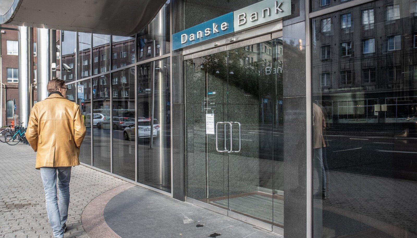 Tallinnas asunud Danske Banki kontor.
