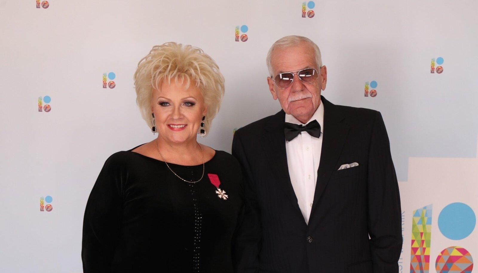 Anne Veski ja  Benno Beltšikov