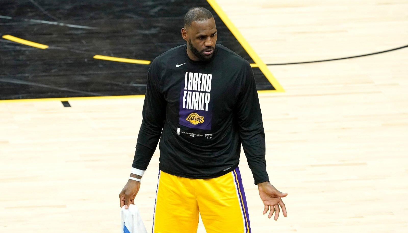 Kas LeBron James ja Co. suudavad seeriasse veel pöörde tuua?