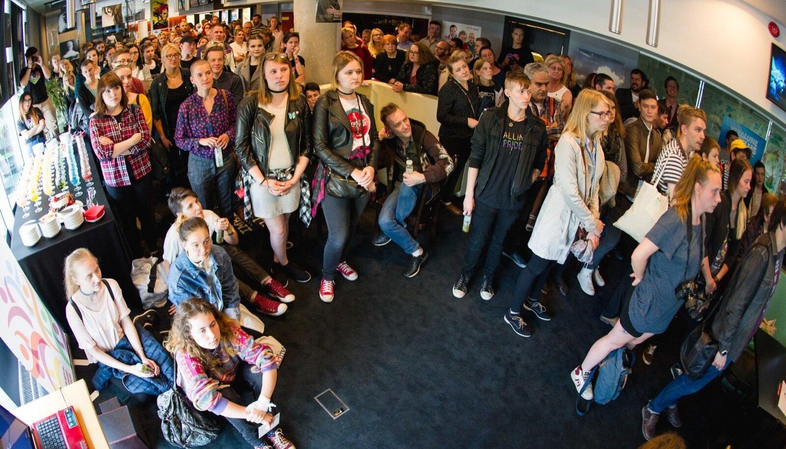 Kultuurifestivali Baltic Pride avamine