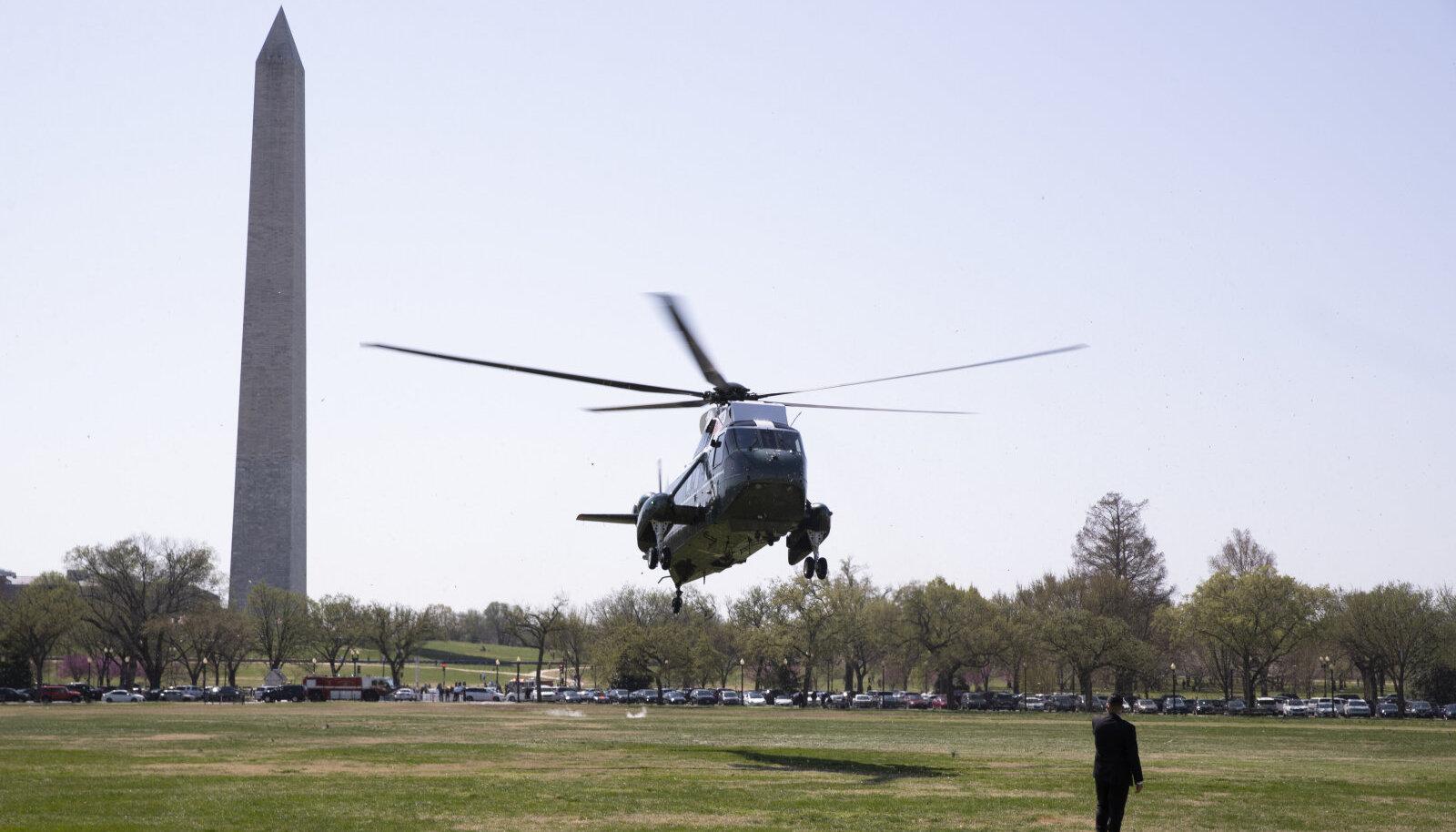 Ellipse on väljak, kuhu maanduvad ka presidendi helikopterid