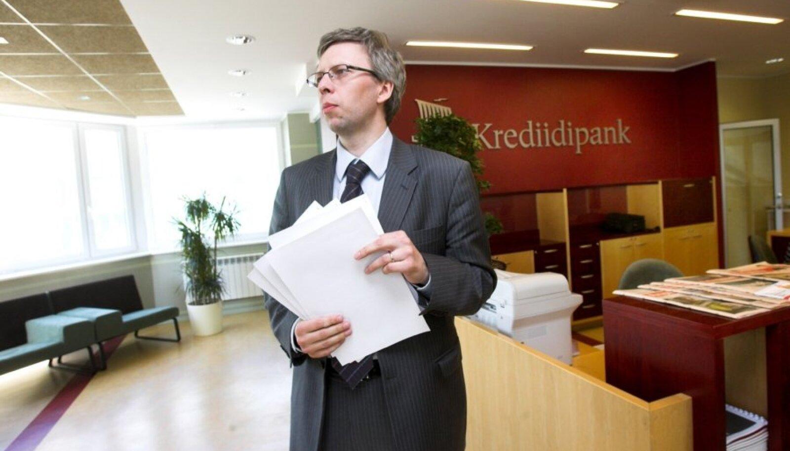Krediidipanga nõukogu esimees Andrus Kluge