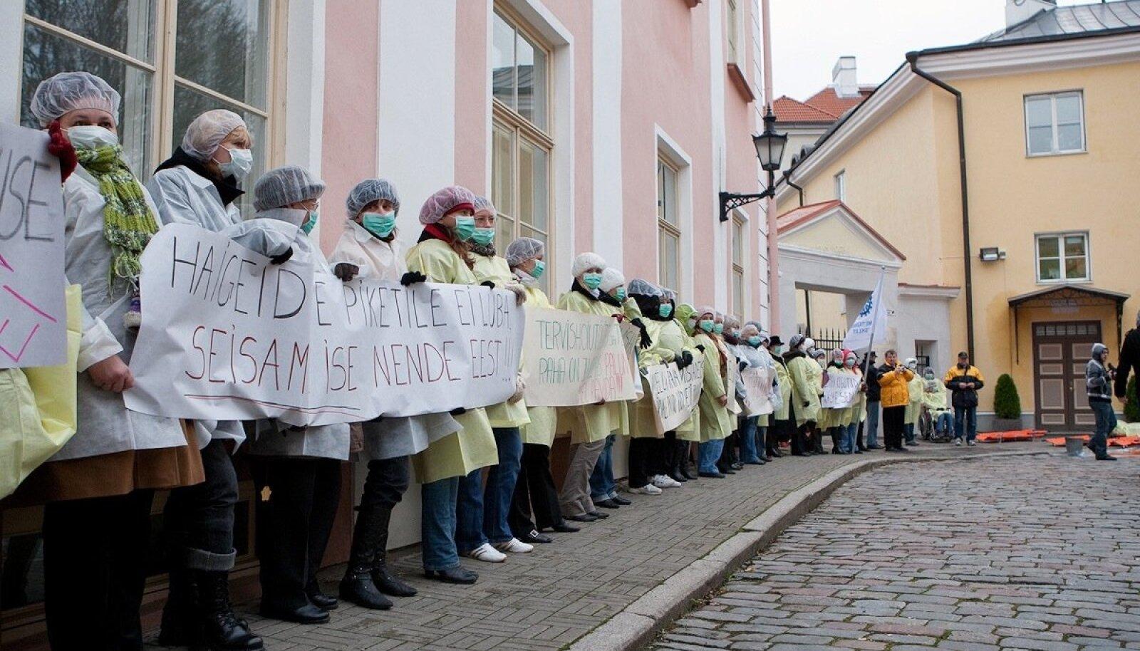 Meditsiinitöötajate meeleavaldus 2009. aastal