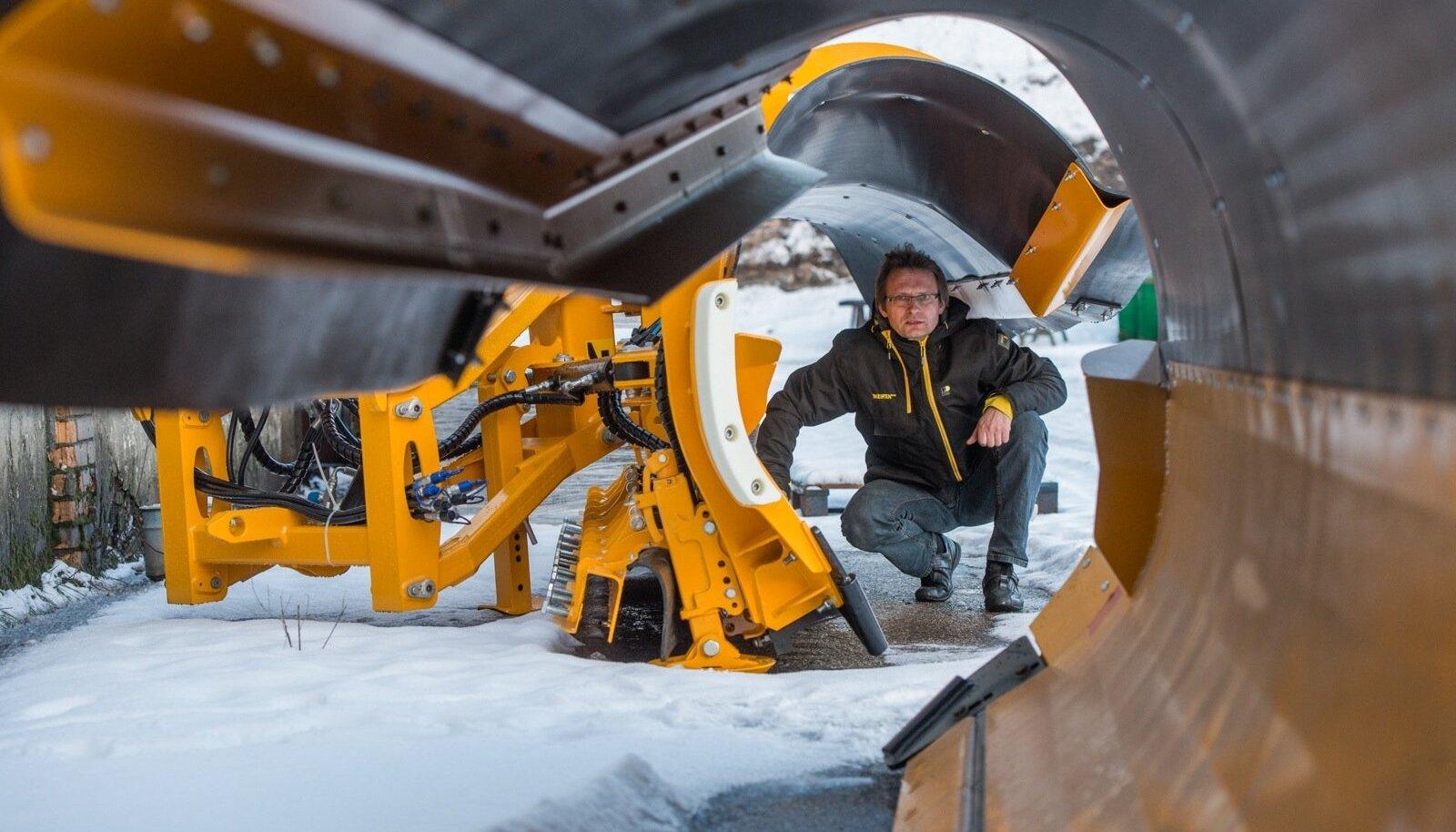 Innovaatilisi lumesahkasid tootva Meiren Engineeringu juhi Raoul Renseri sõnul on see olnud firma teadlik valik, et tooteid arendatakse vaid kasumi arvelt.