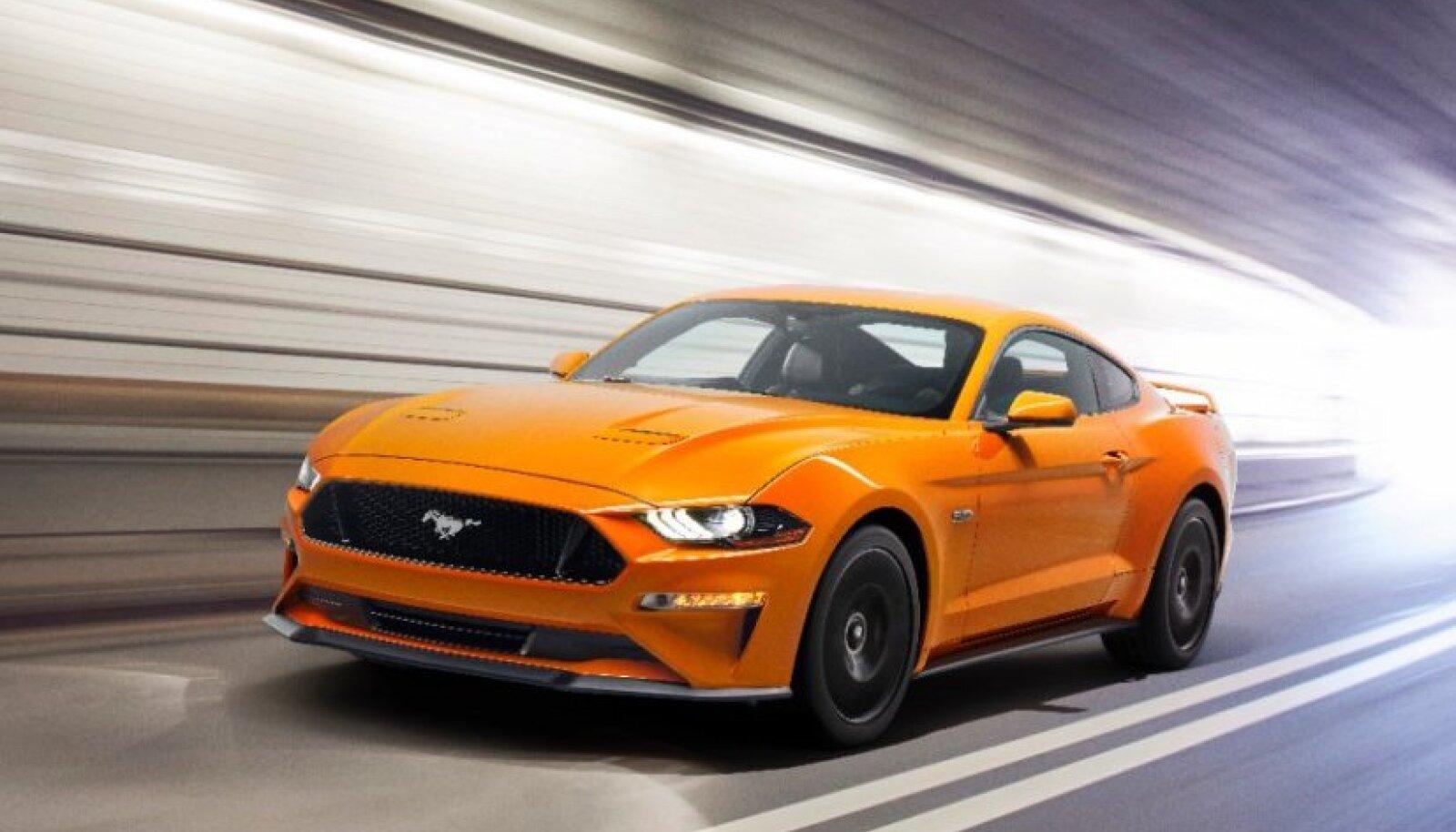 Uuenenud Ford Mustang V8 GT