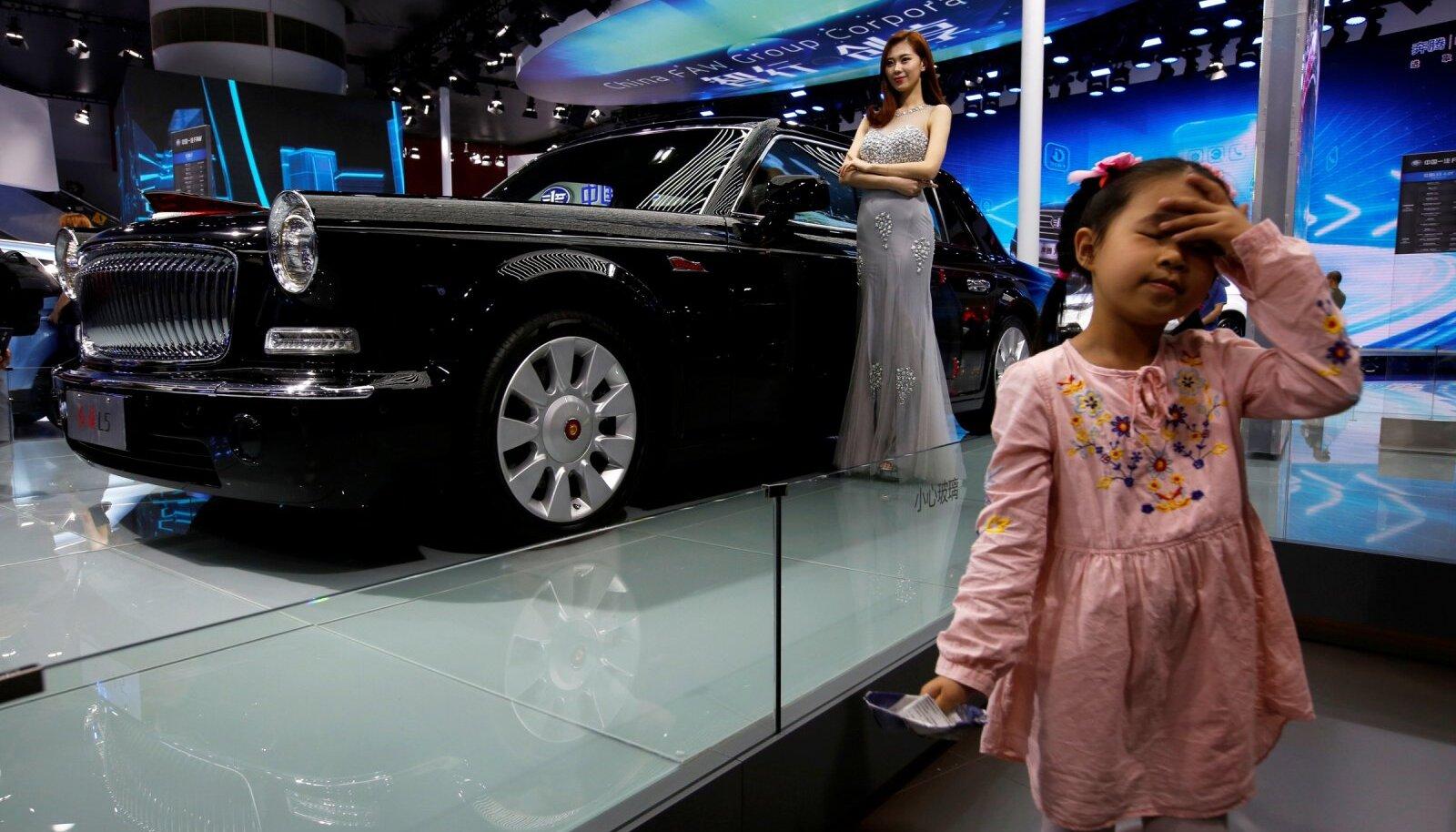 Hongqi L5 Guangzhou automessil.