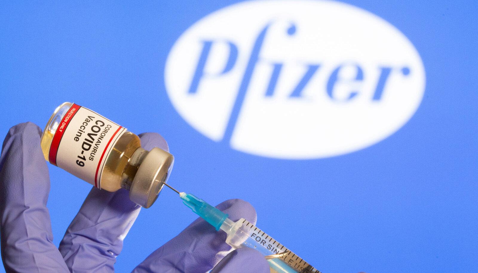 Kas Pfizeri koroonavaktsiin jõuab esimesena lettidele?