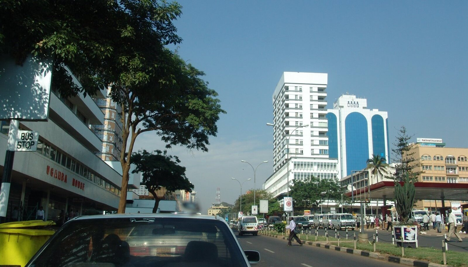 Uganda pealinn Kampala