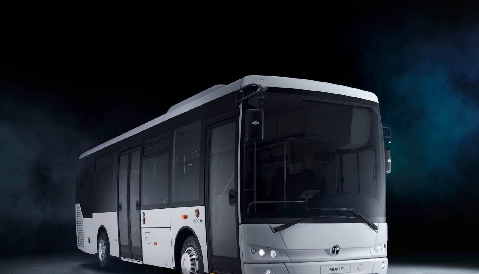 Keskmise suurusega maakonnaliinide buss Temsa MD9-LE.