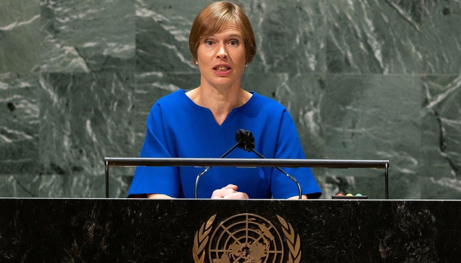 ÜRO julgeolekunõukogu koht – Eestis ei ole paljud aru saanud, kui erakordne see oli, et me selle võitsime.