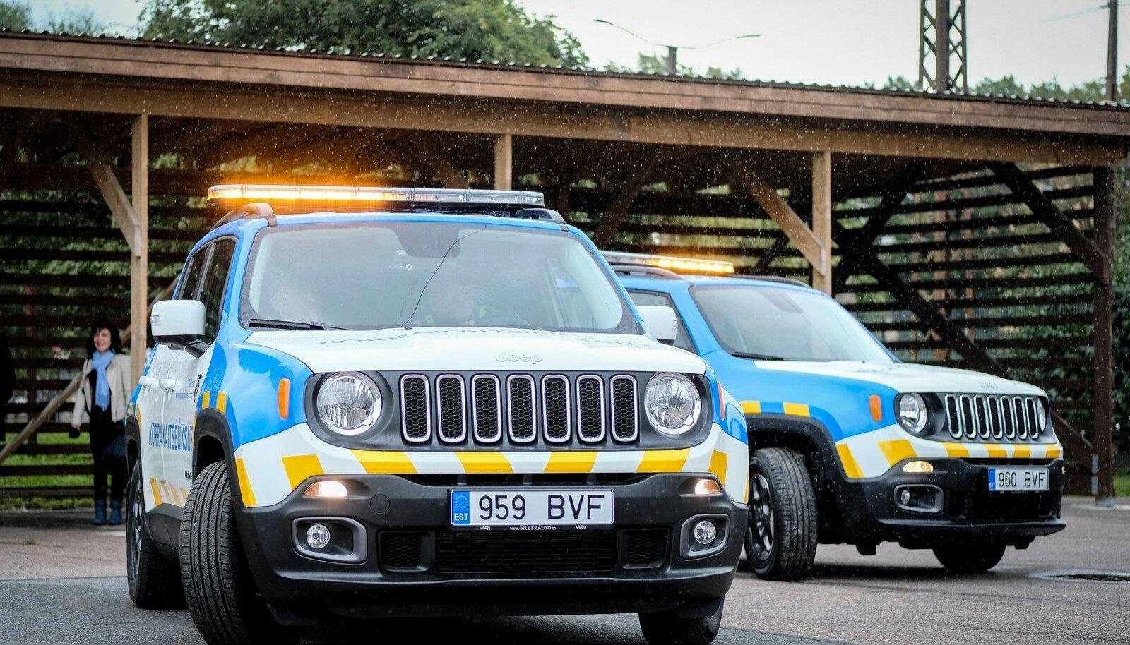 Tallinna Munitsipaalpolitsei Ameti  ametiautod.
