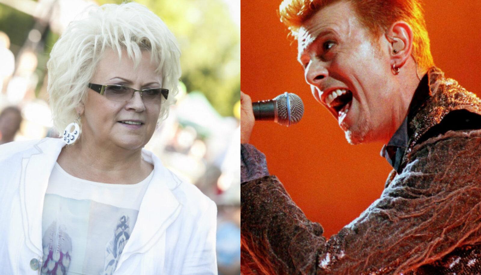 Anne Veski ja David Bowie