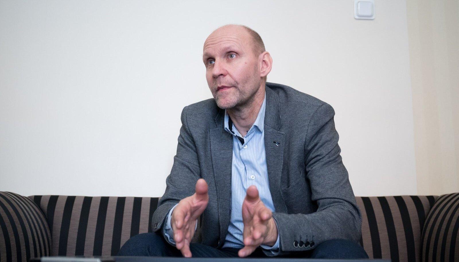 IRL esimees Helir-Valdor Seeder