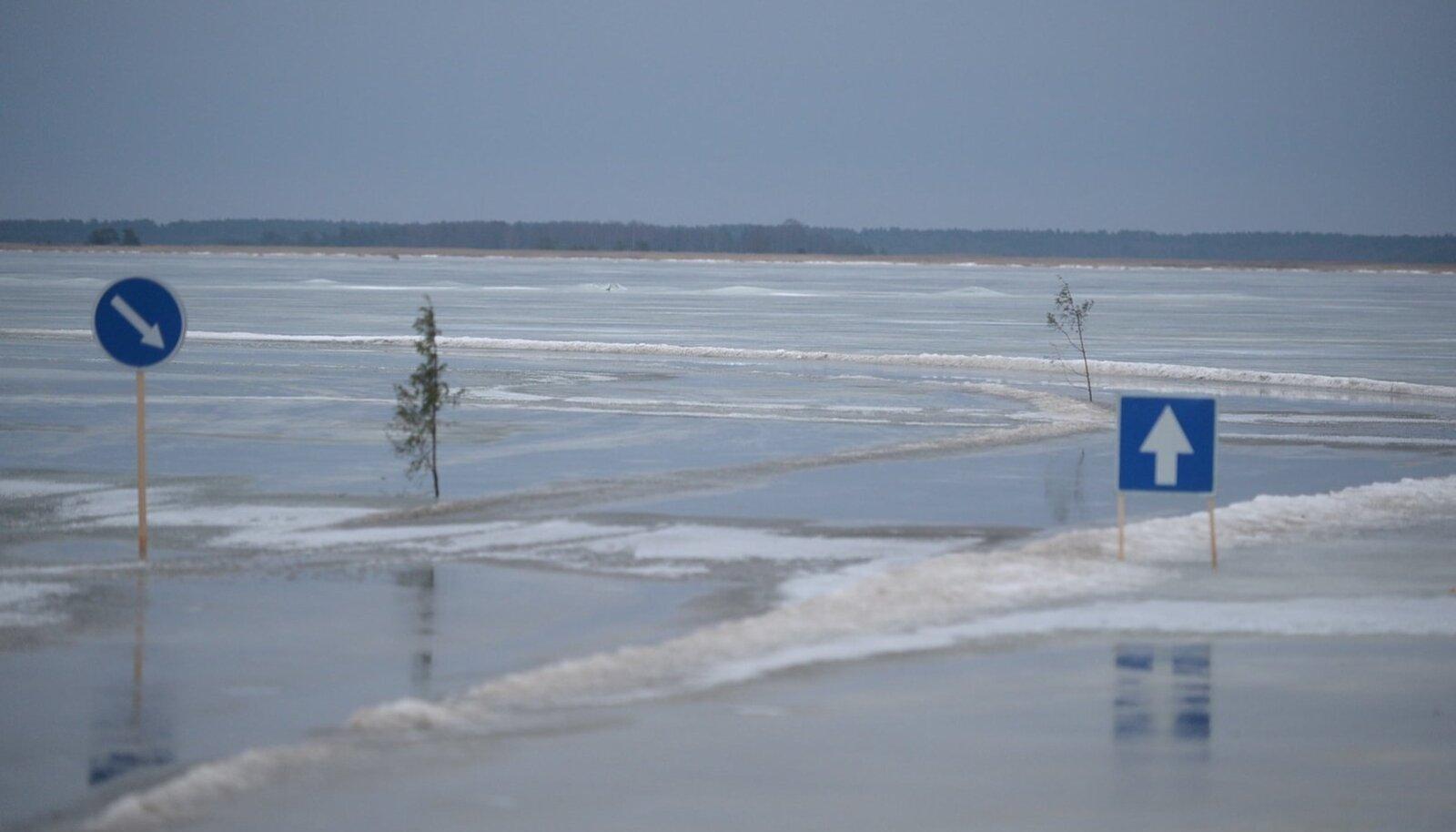 Haapsalu-Noarootsi jäätee 2014. aastal