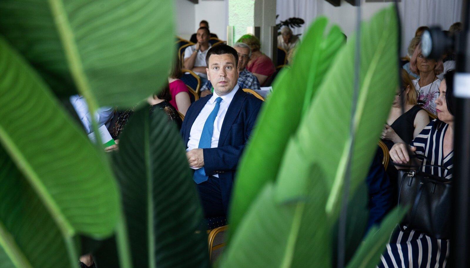 Jüri Ratas Keskerakonna volikogul