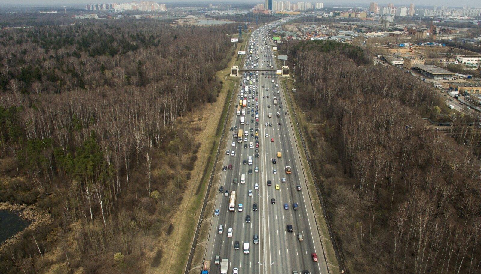 Kiirtee Moskva lähistel