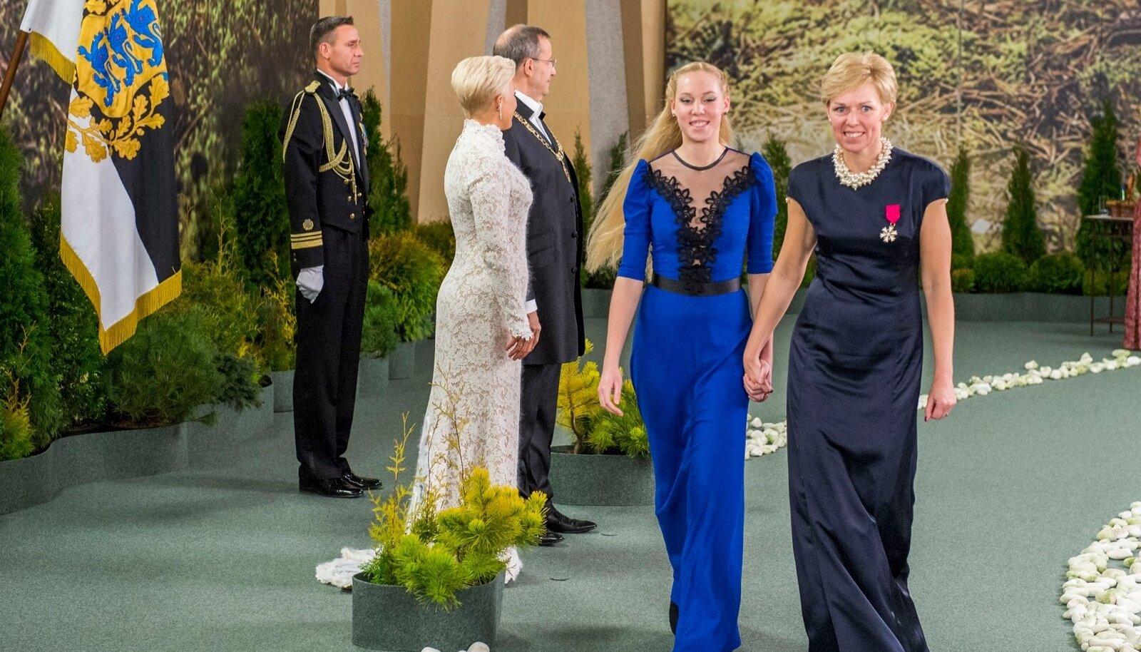 Riigikogu kantselei direktor Maria Alajõe ja tütar Agnes Alajõe