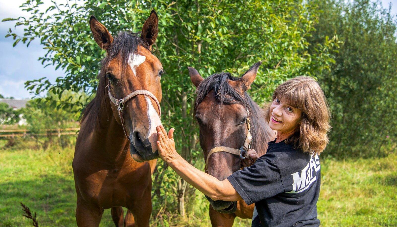 Hobused on Kati sõbrad-elukaaslased.