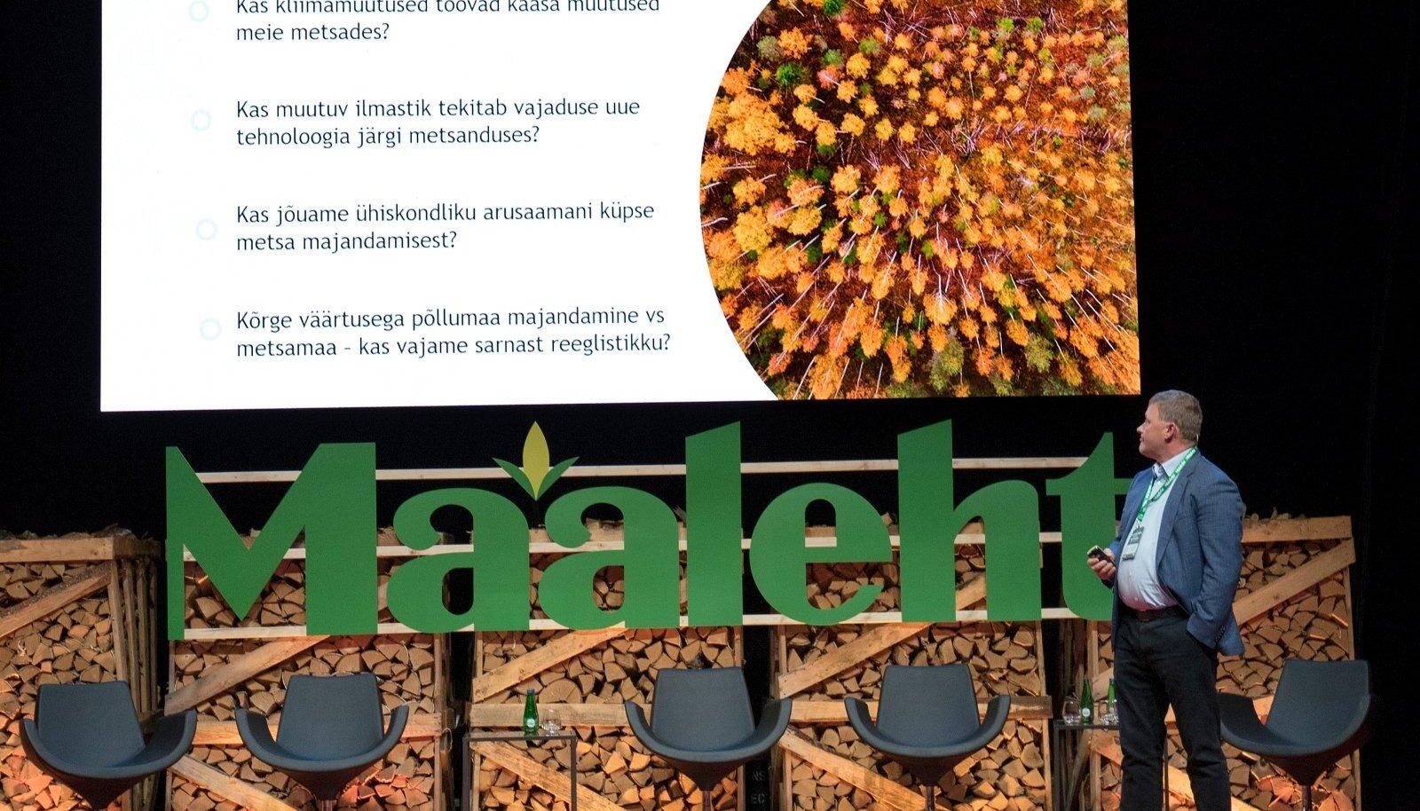 MIS SAAB EDASI? Raul Kirjanen esinemas Maalehe konverentsil.