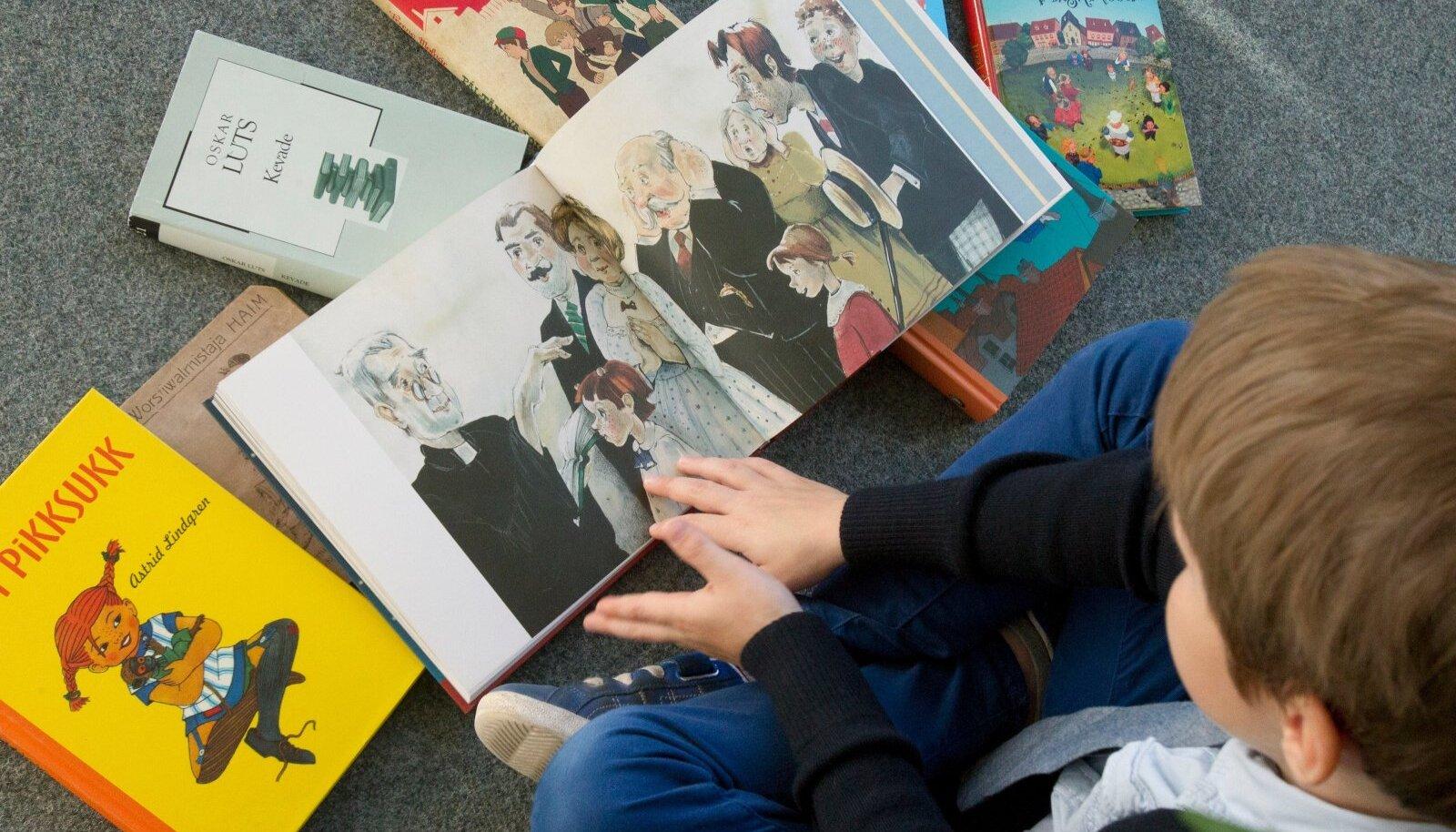 Lapsed arenevad lugejatena väga kiiresti – kui lugemine on selge ja paeluv, siis jõutakse lihtsa sõnavaraga pildiraamatutest ruttu pikemate tekstideni.