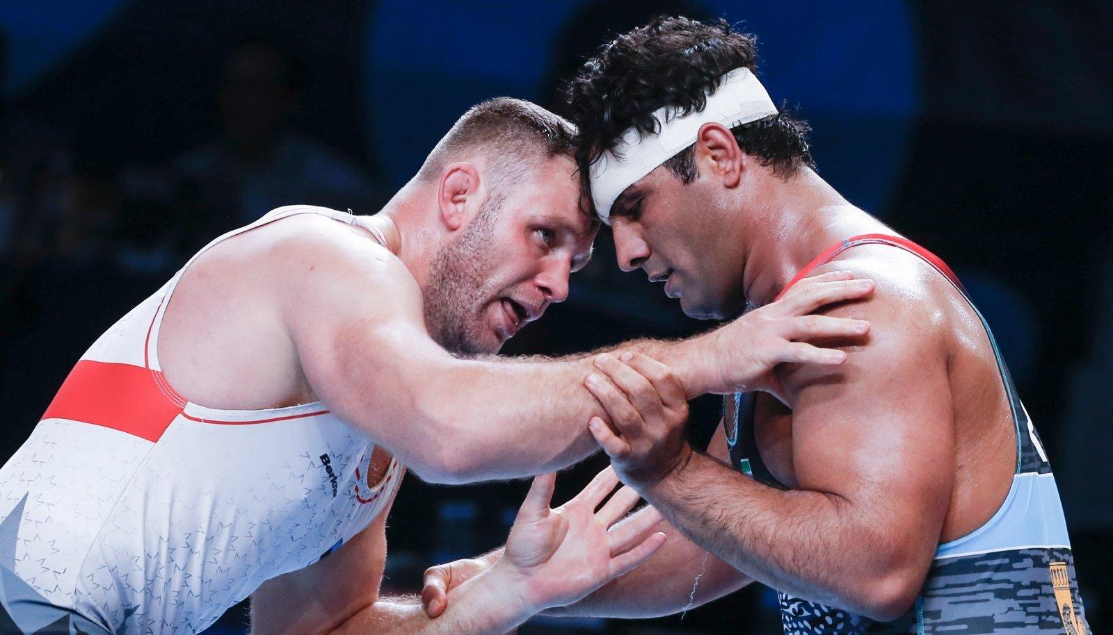 Heiki Nabi (vasakul) pole lootust kaotanud ja valmistub Tokyo olümpiaks.