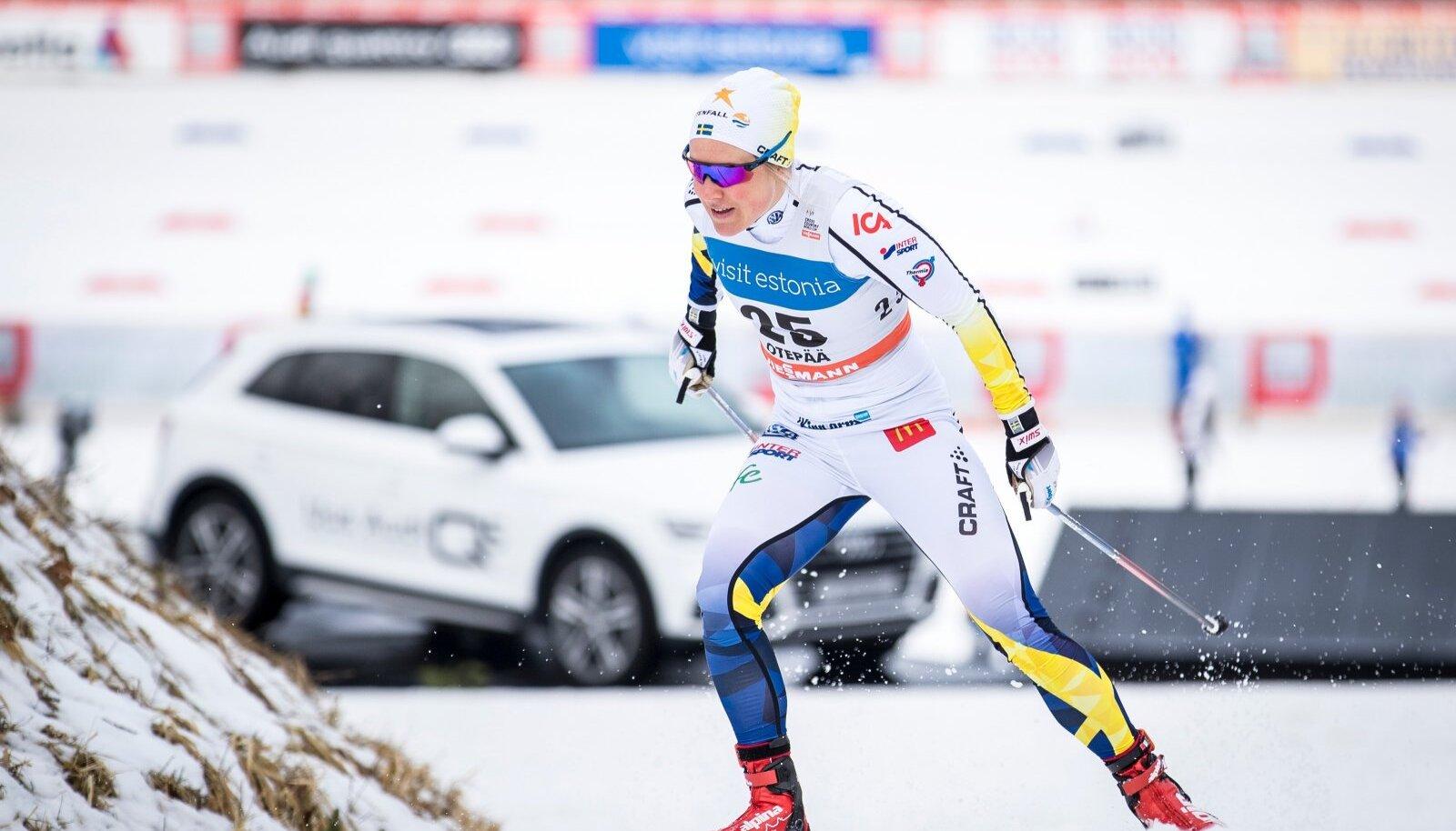 Hanna Falk Otepää MK-etapil 2017. aastal.