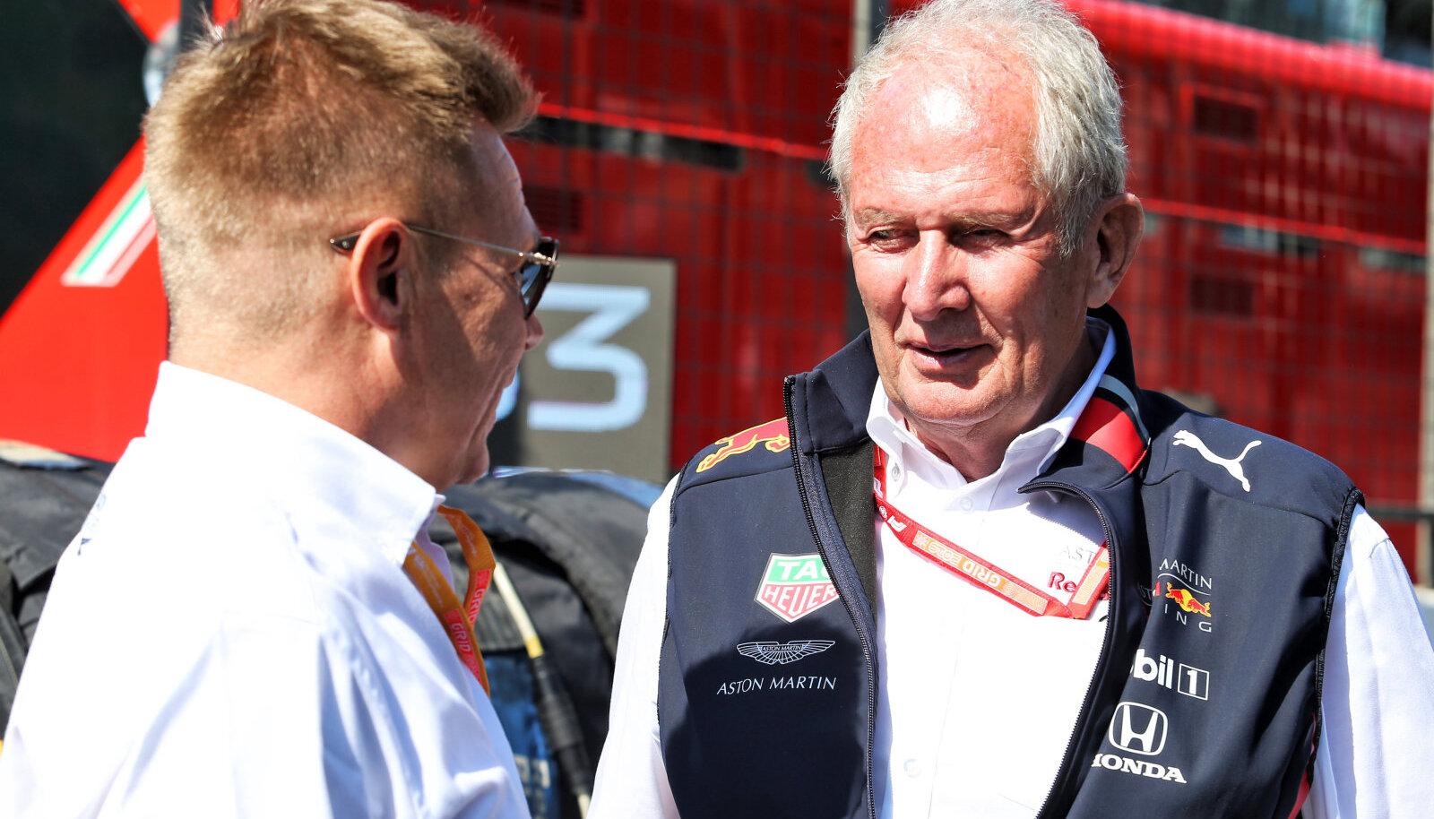 Helmut Marko (paremal)
