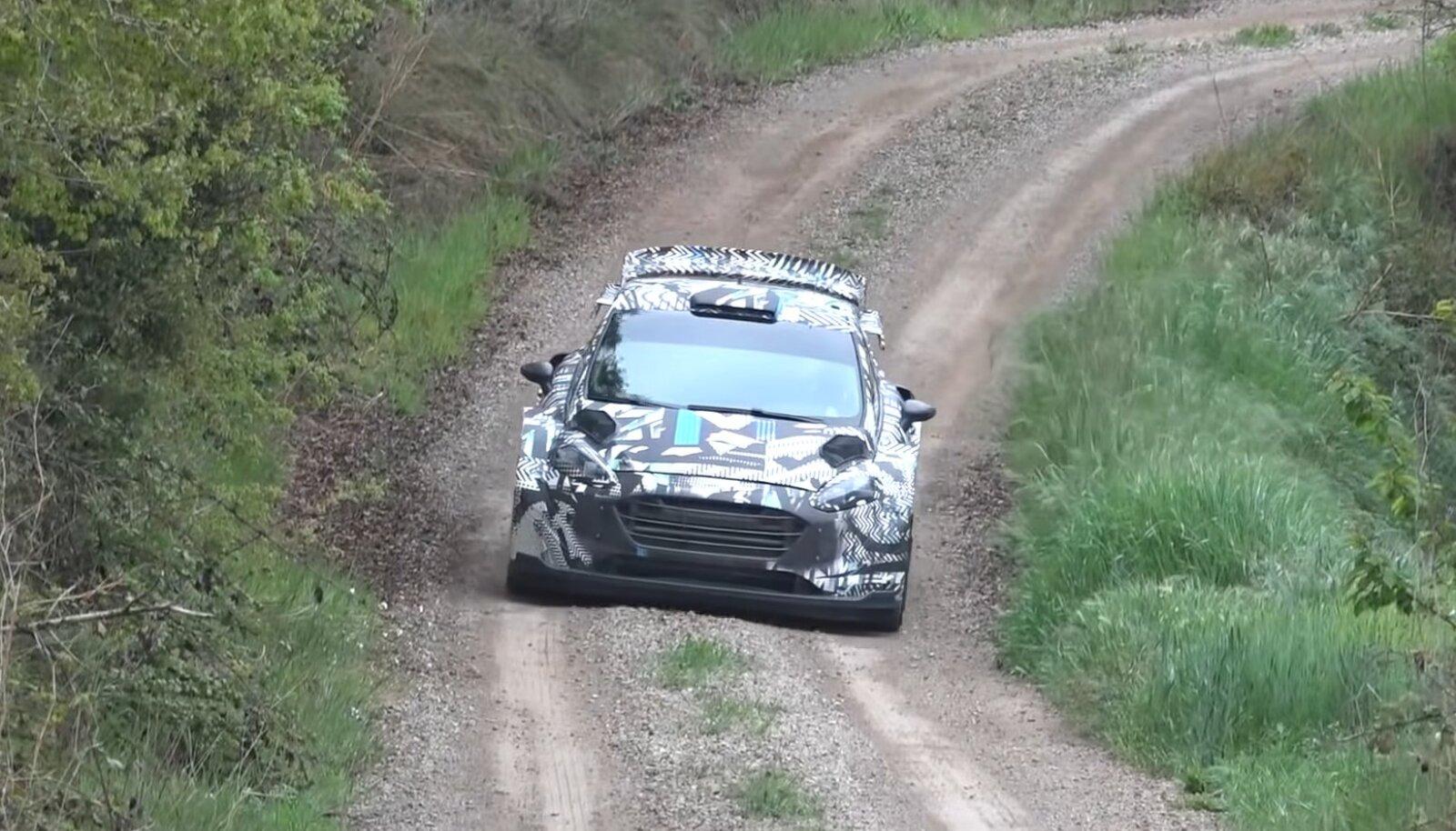 Uue põlvkonna M-Spordi WRC-auto test.