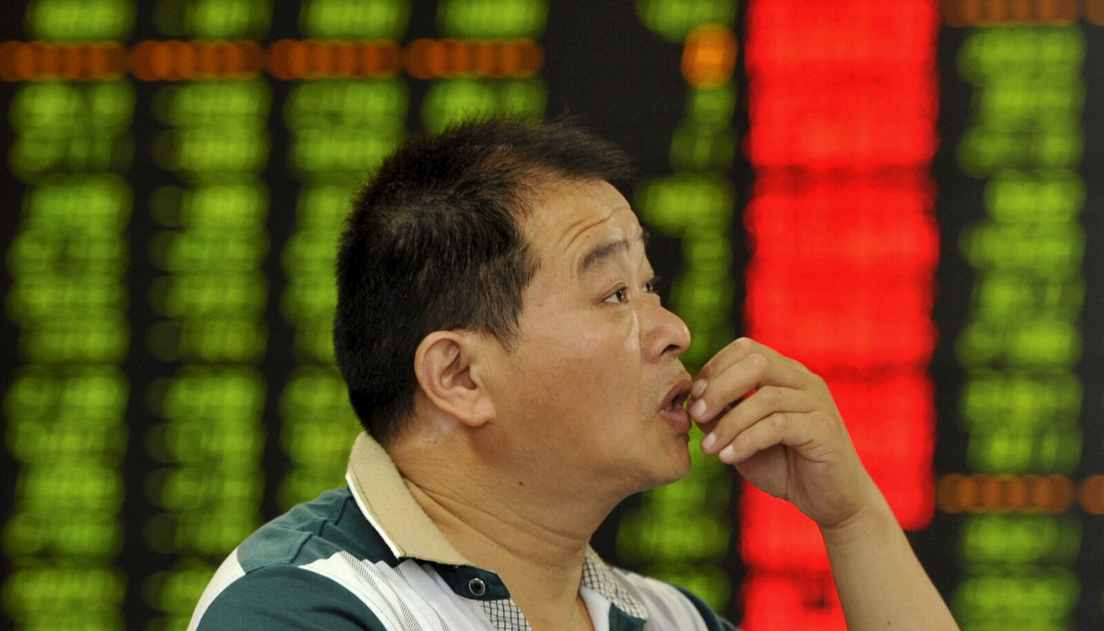 Nõutu hiina investor vaatab kukkuvaid börsihindu
