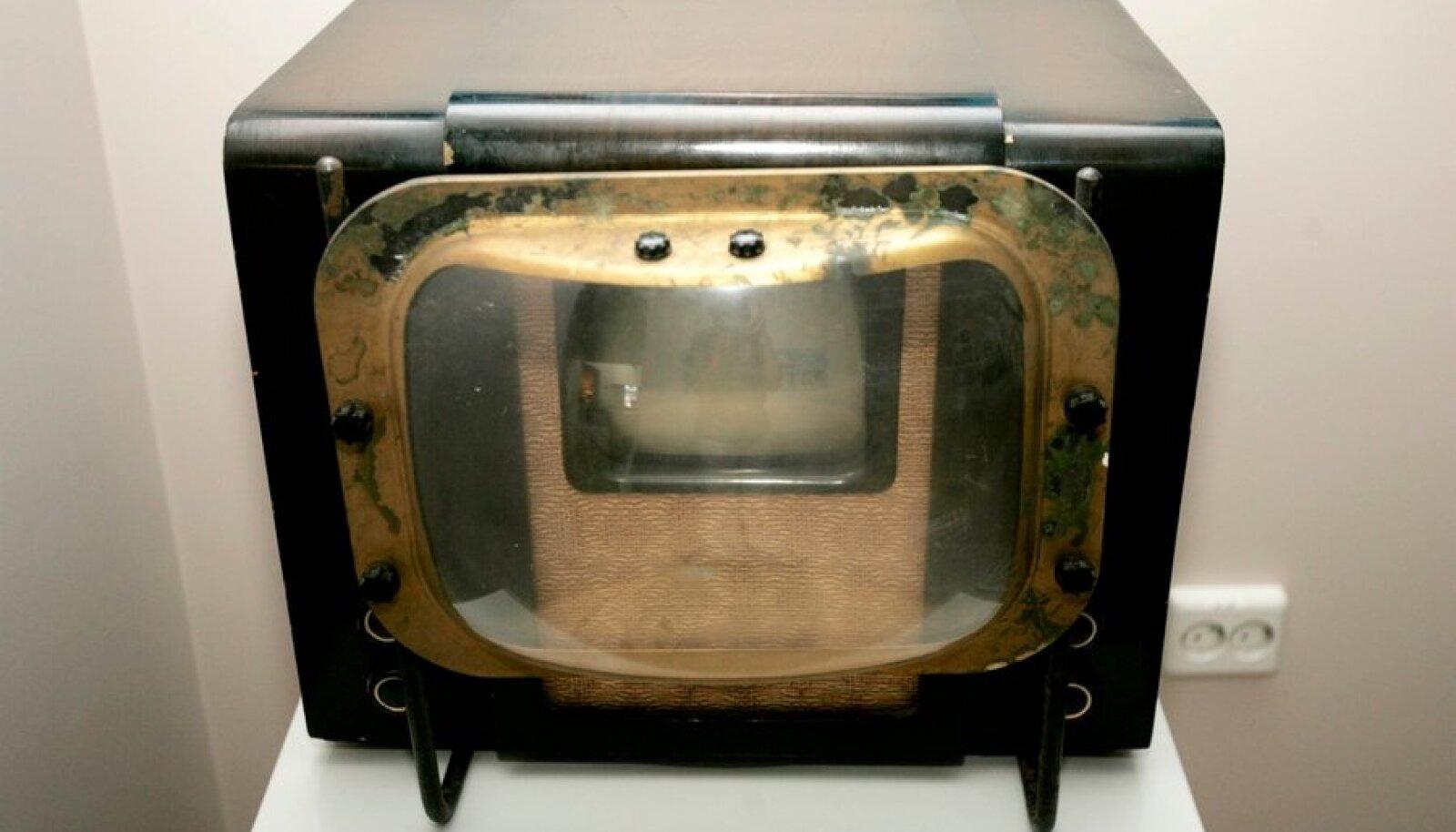Televiisor Türil ringhäälingumuuseumis