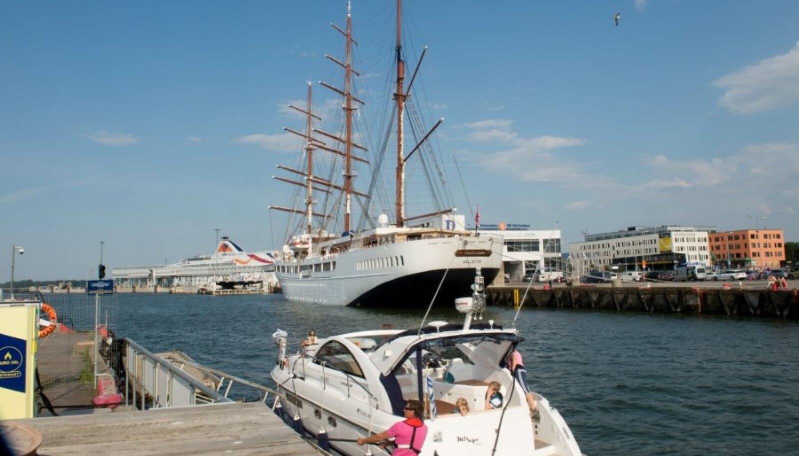 Sea Cloud II Tallinna sadamas 6.07.14