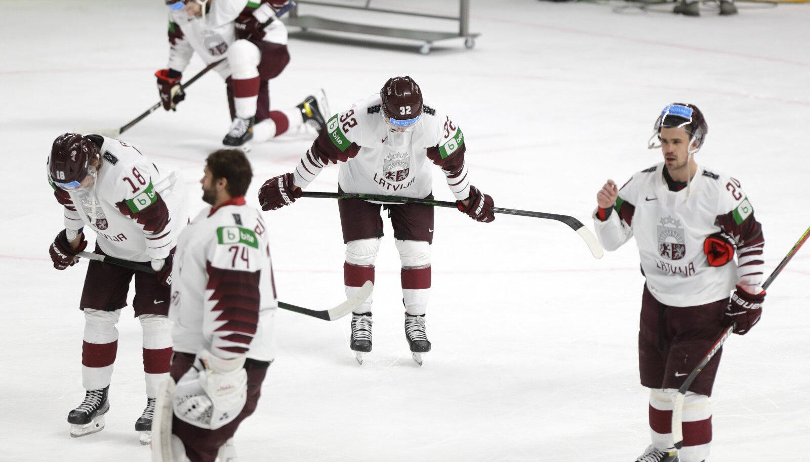 Läti jäähokimängijad