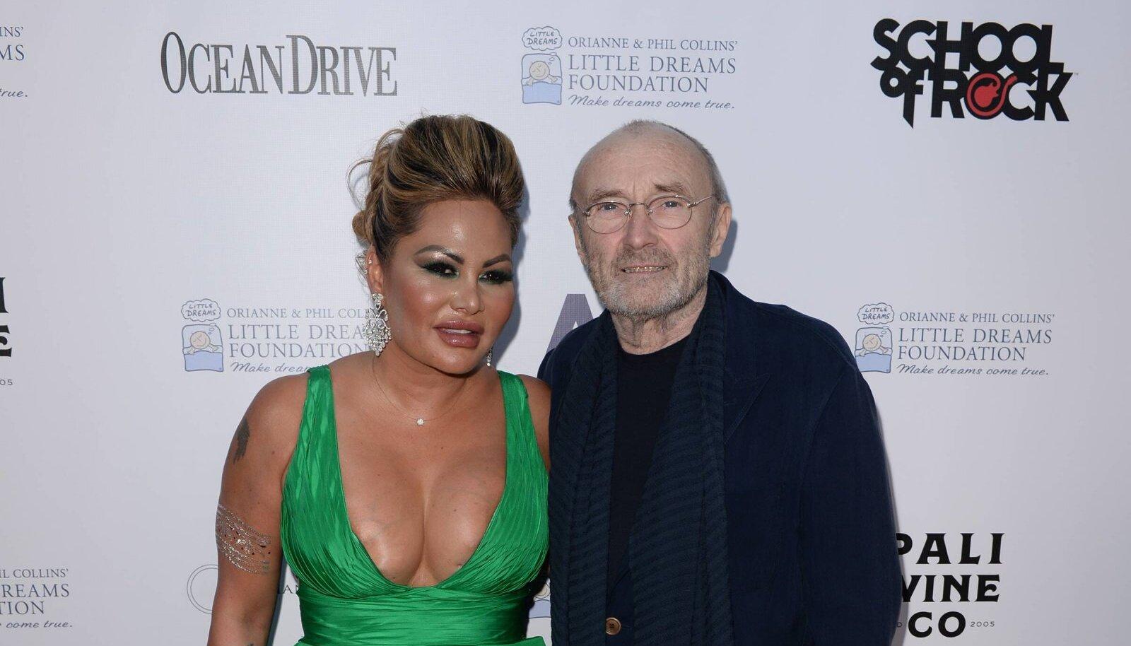 Orianne ja Phil Collins, 2018