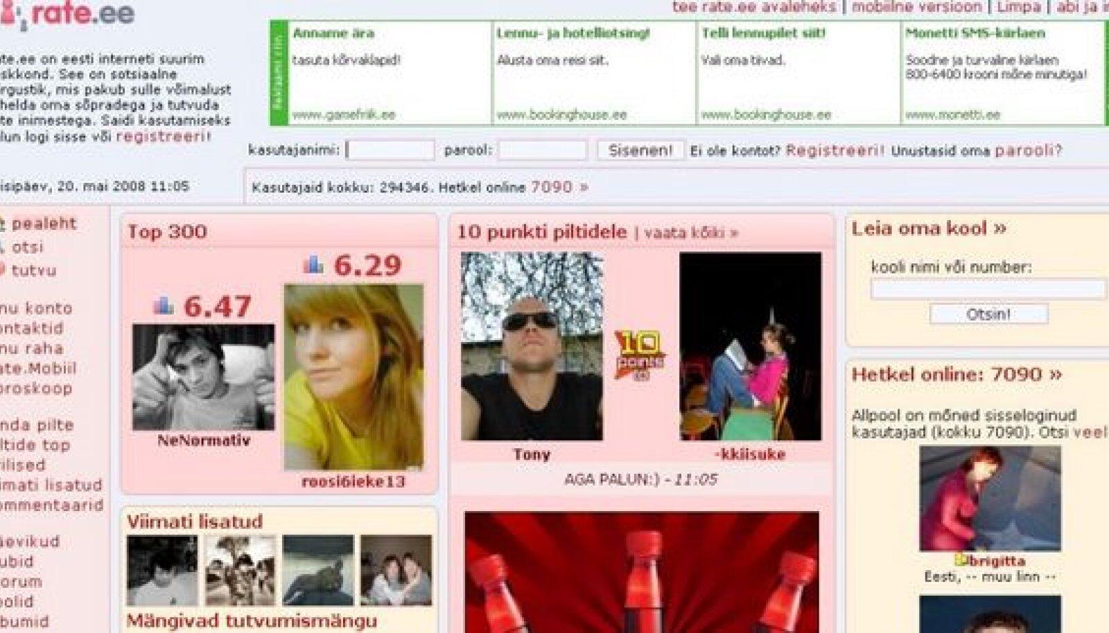 Meeldib.ee site ranking history