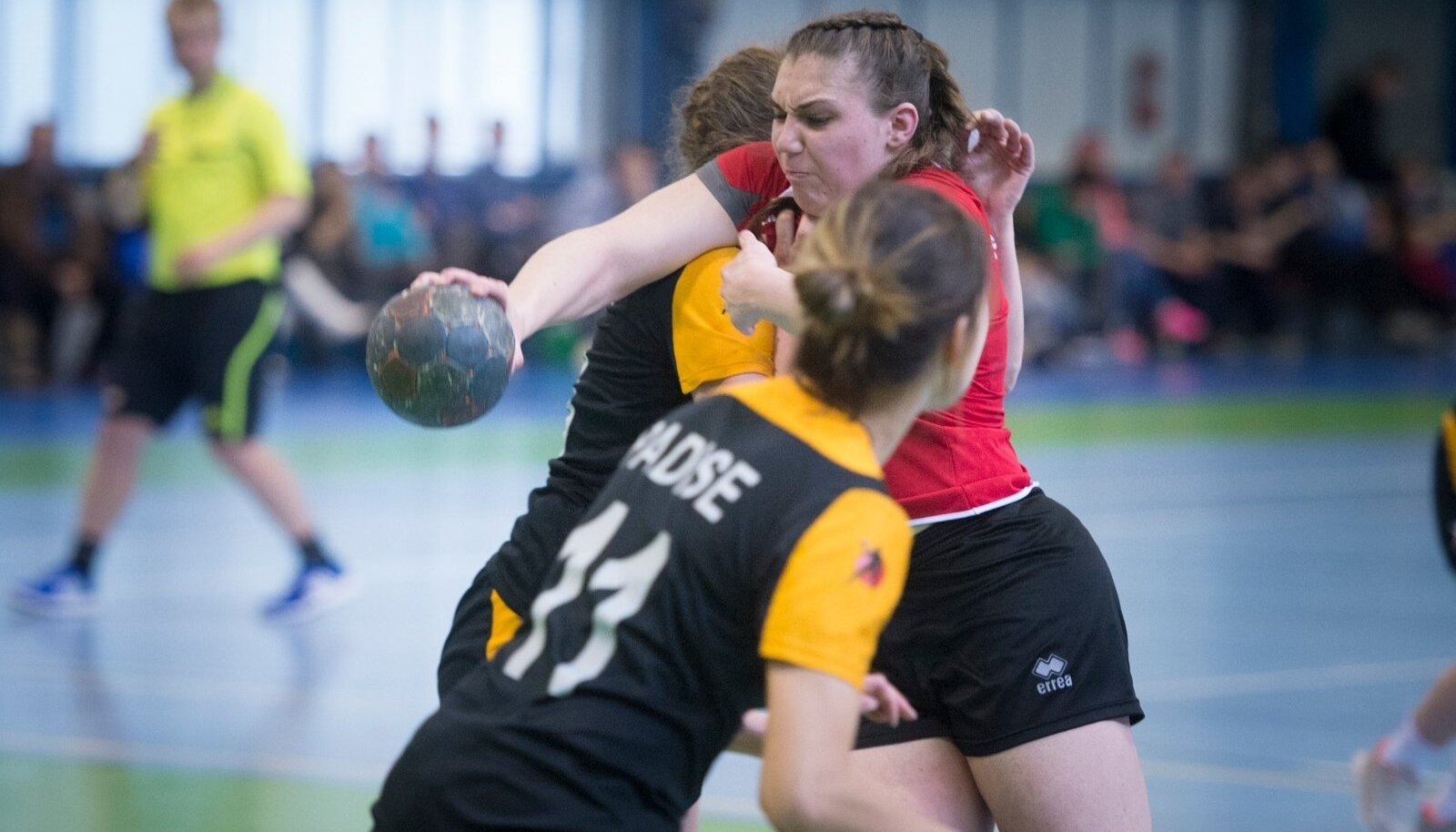 Eesti naiste käsipalliliiga. (Foto on illustratiivne)