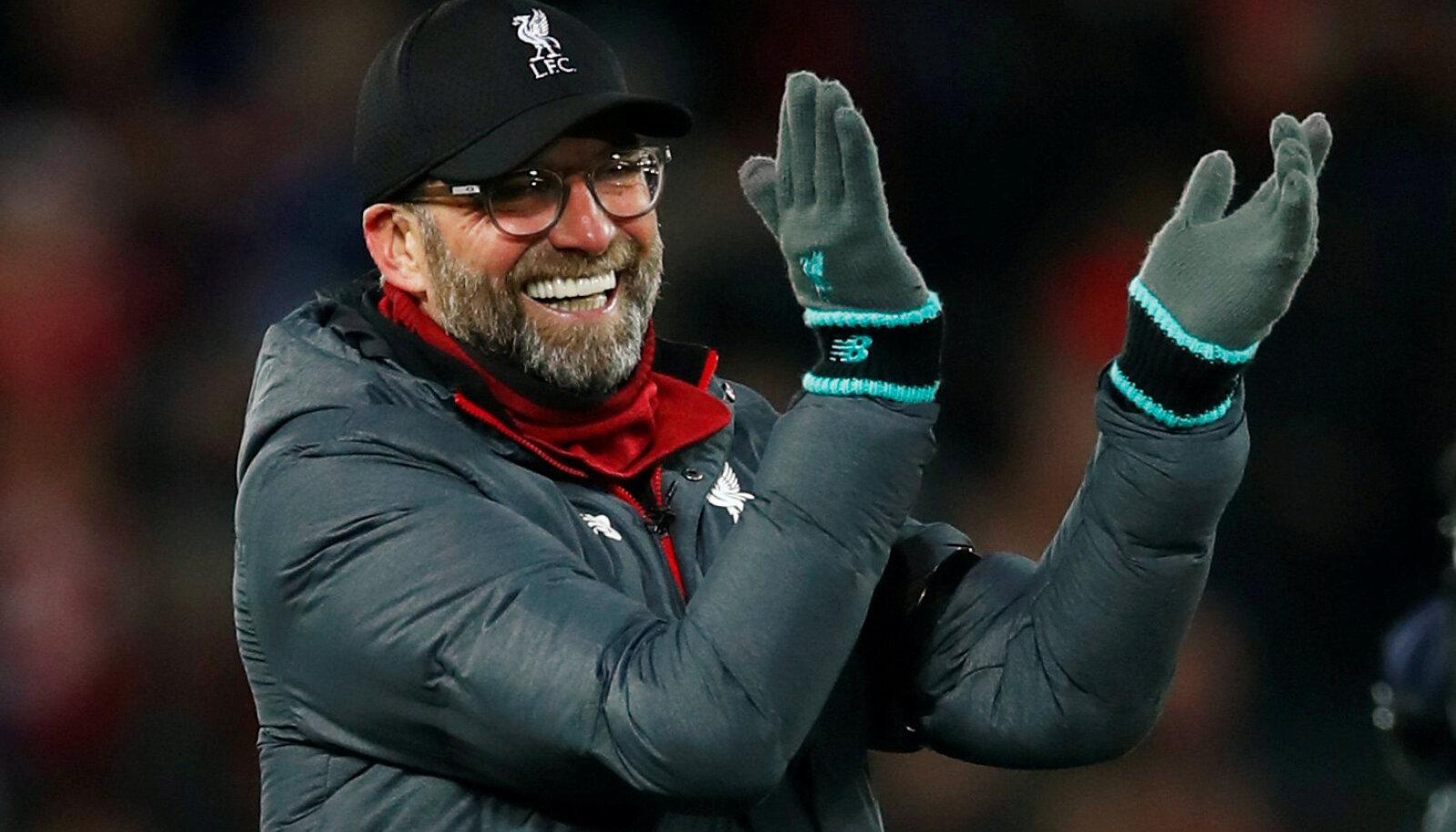Liverpooli peatreener Jürgen Klopp