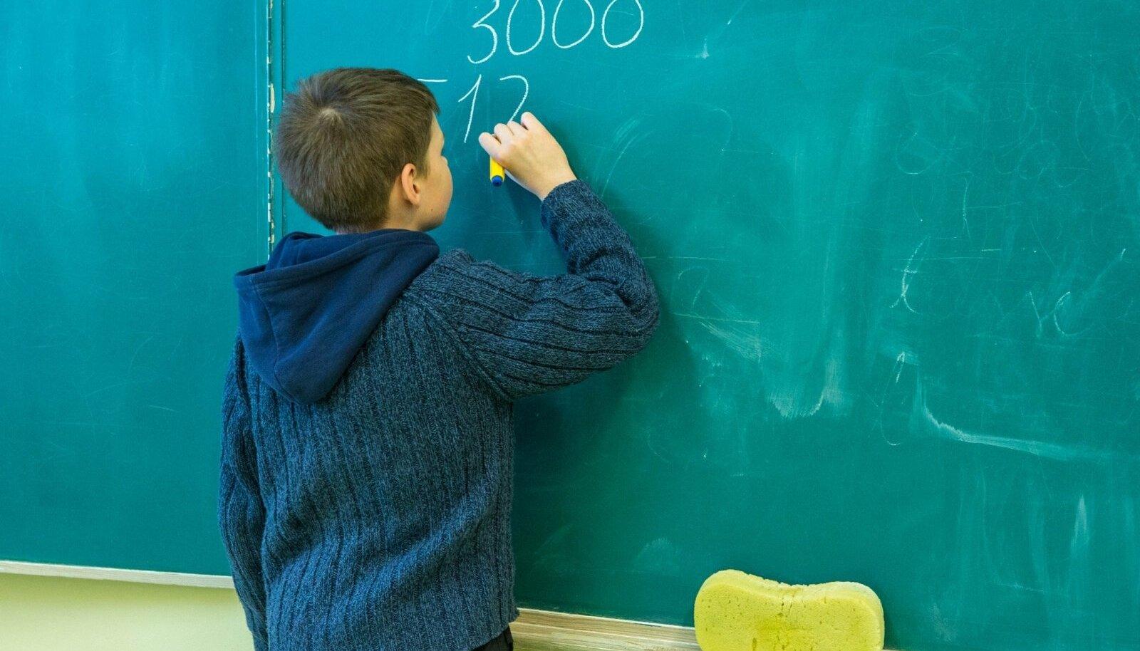 Matemaatika lahenduskäik jättis teistsuguse lahenduskäigu eest eksaminandi osadest punktidest ilma.
