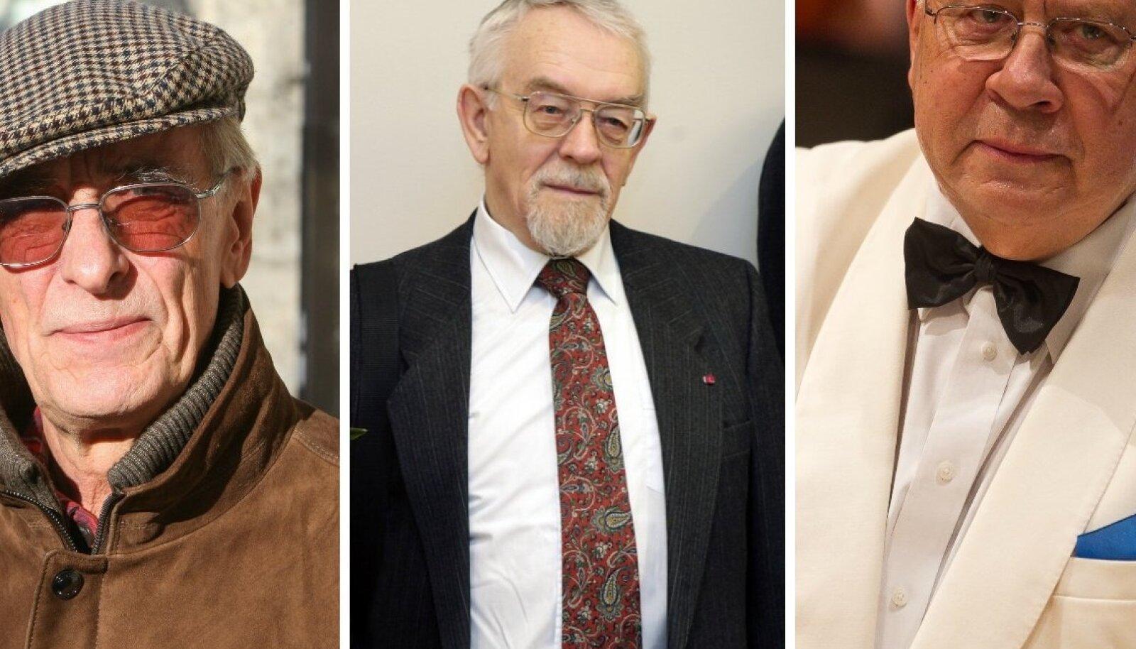 Lembit Ulfsak, Kalle Kasemaa, Neeme Järvi
