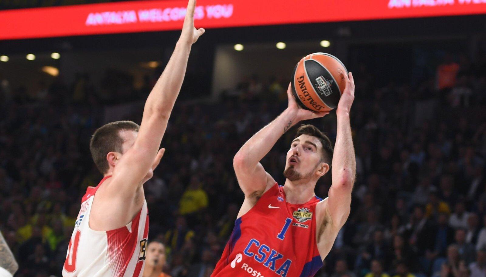 CSKA mängumees Nando De Colo