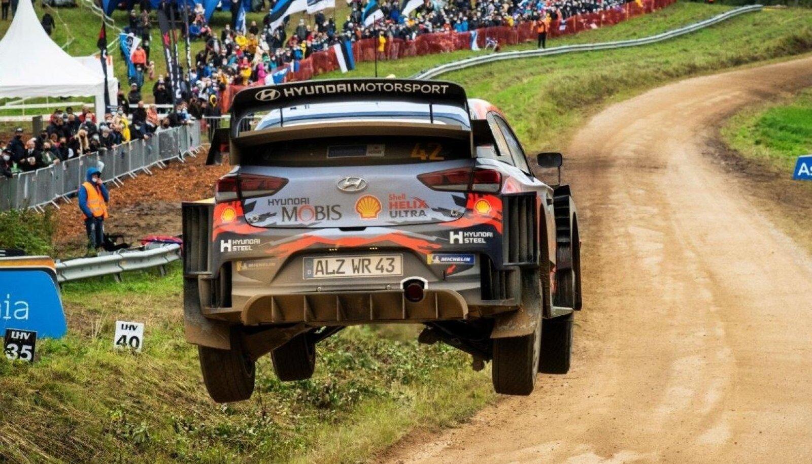 Rally Estonia 2021 on TV3 otse-eetris.