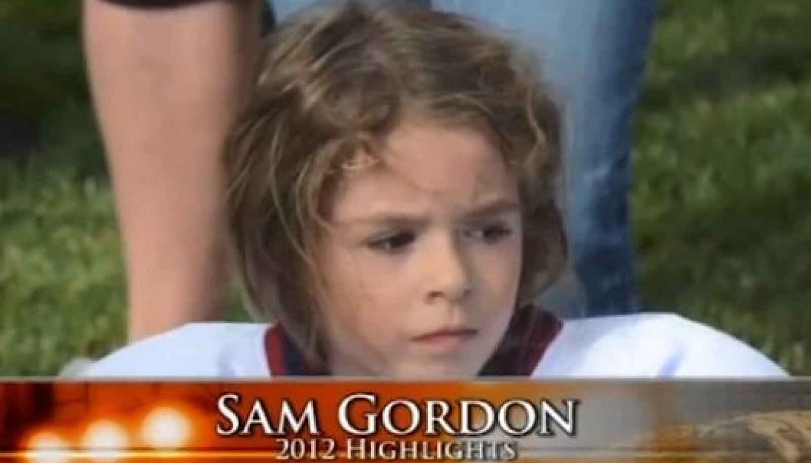 Sam Gordon, foto YouTube