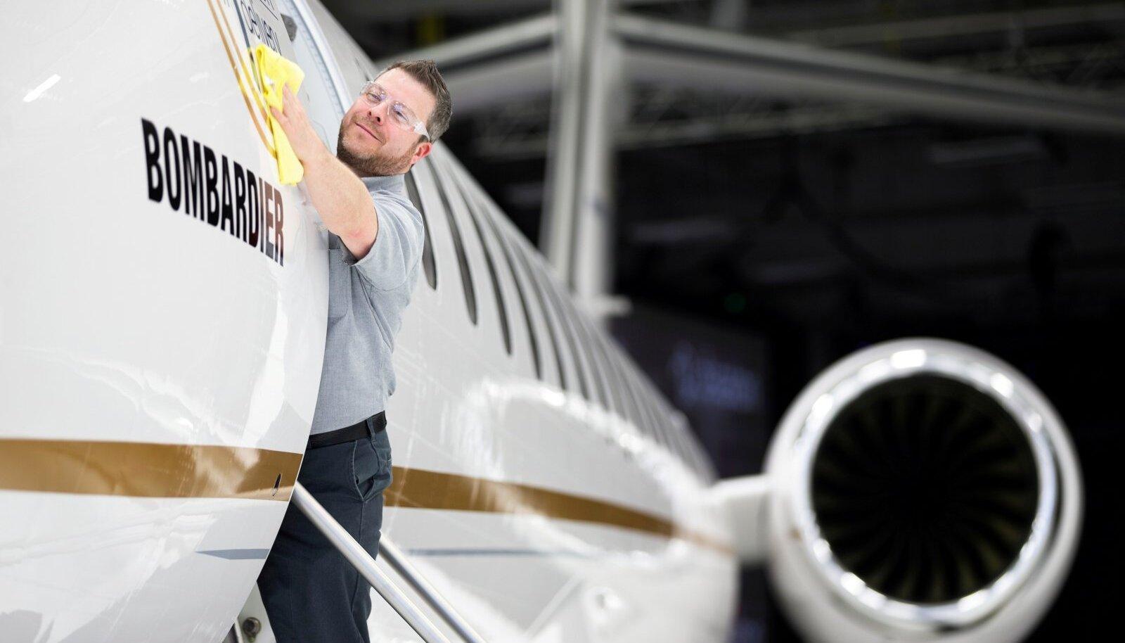 Esimene Bombardier Global 7500 valmis 2018. aasta detsembris.