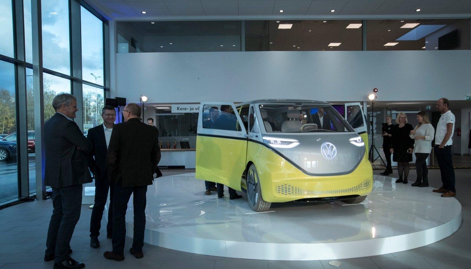 """Volkswagen ID.Buzz elektriline """"hipibuss"""" on üks ettevõtte ID sarja masinatest, mis tähistavad ettevõtte uut lähenemist elektriautole"""