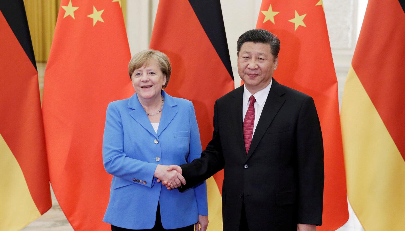 Hiina on Saksamaa suurim kaubanduspartner ning Berliin ei soovi häid suhteid rikkuda.