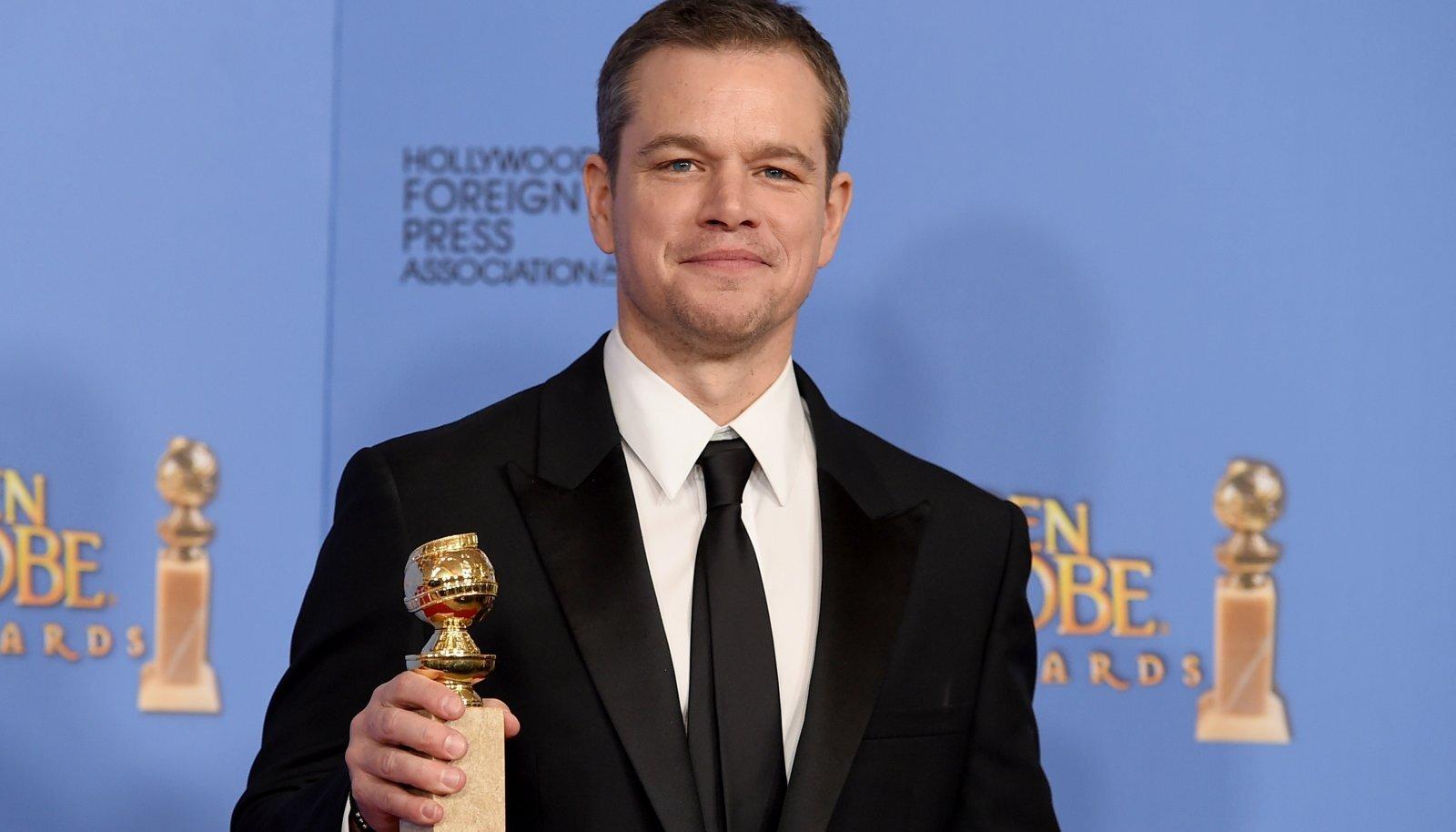 Matt Damon 2016. aastal Kuldgloobuste auhinnagalal