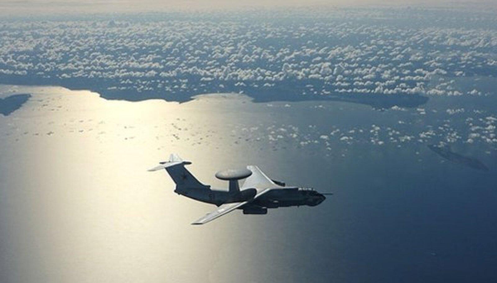 2009. aastal lendas Eesti piiri lähistel Vene luurelennuk A-50