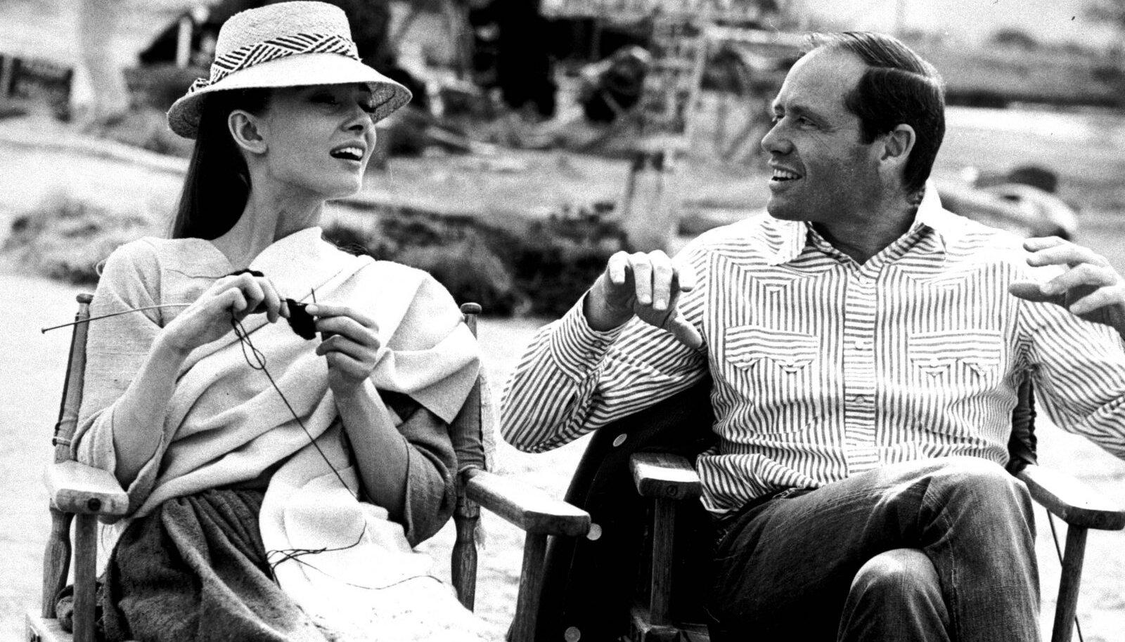 Audrey Hepburn oma abikaasa Mel Ferreriga aastal 1959.
