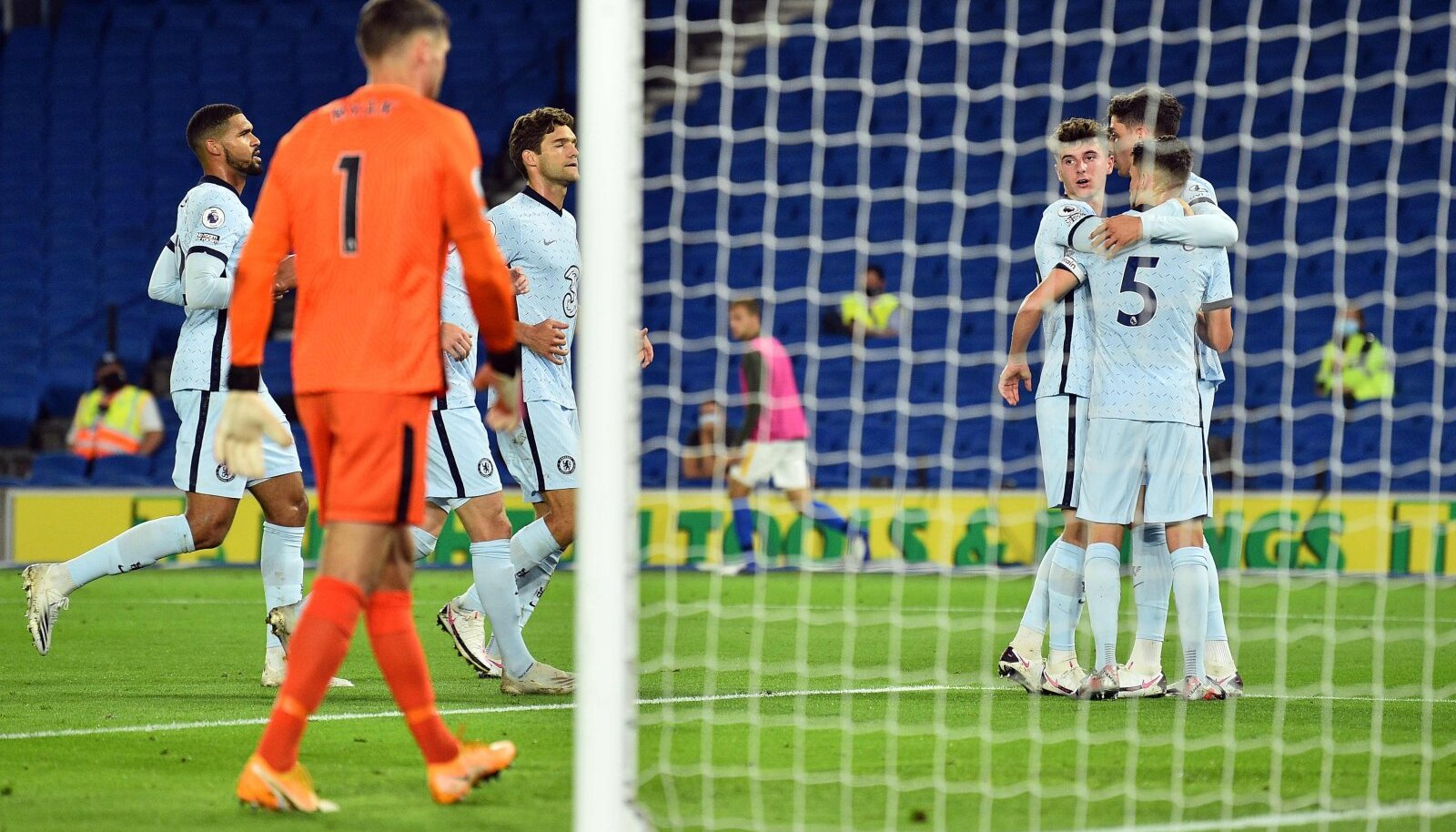 Jorginho realiseeris penalti