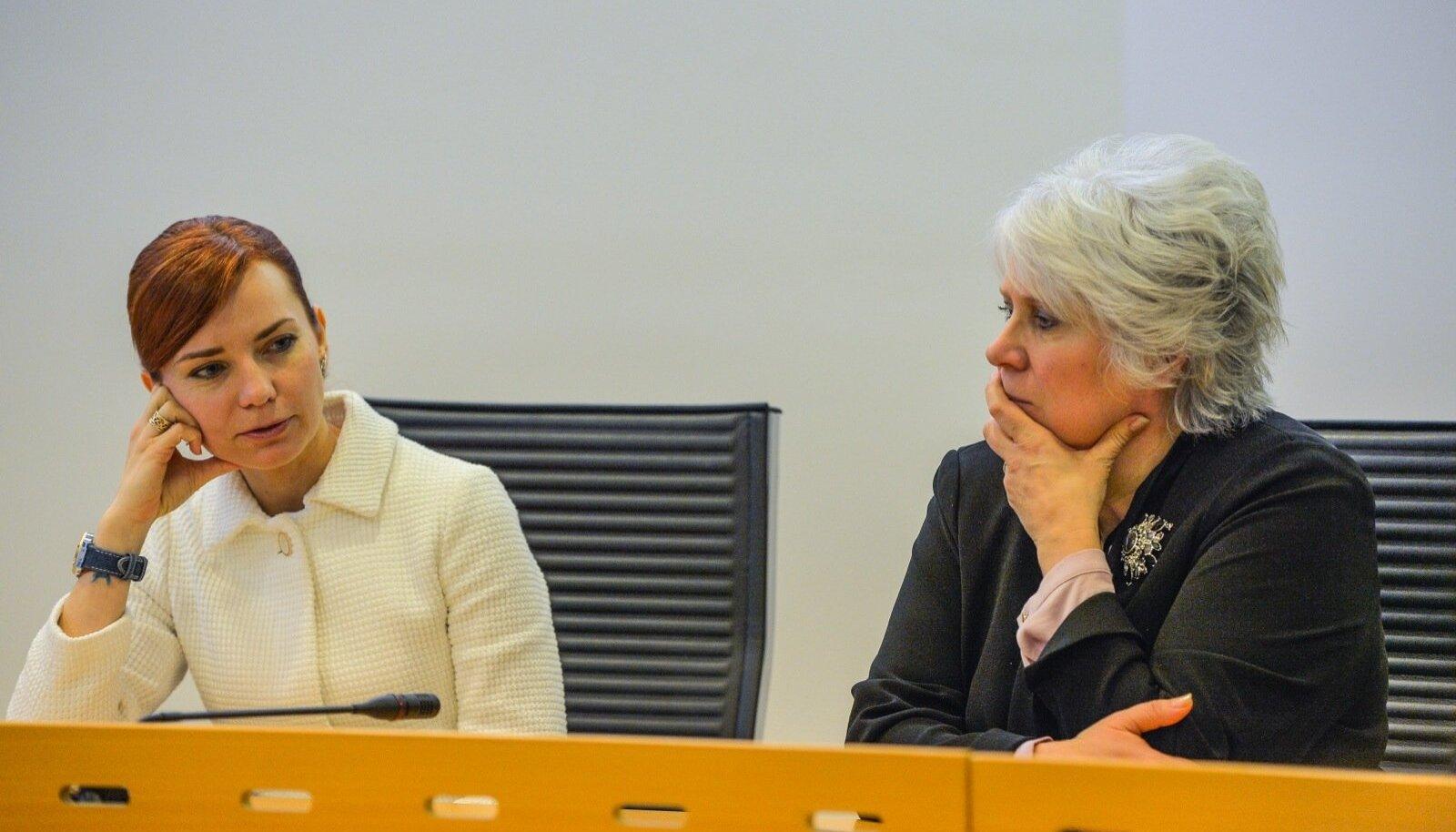 Keit Pentus-Rosimannus ja Marina Kaljurand